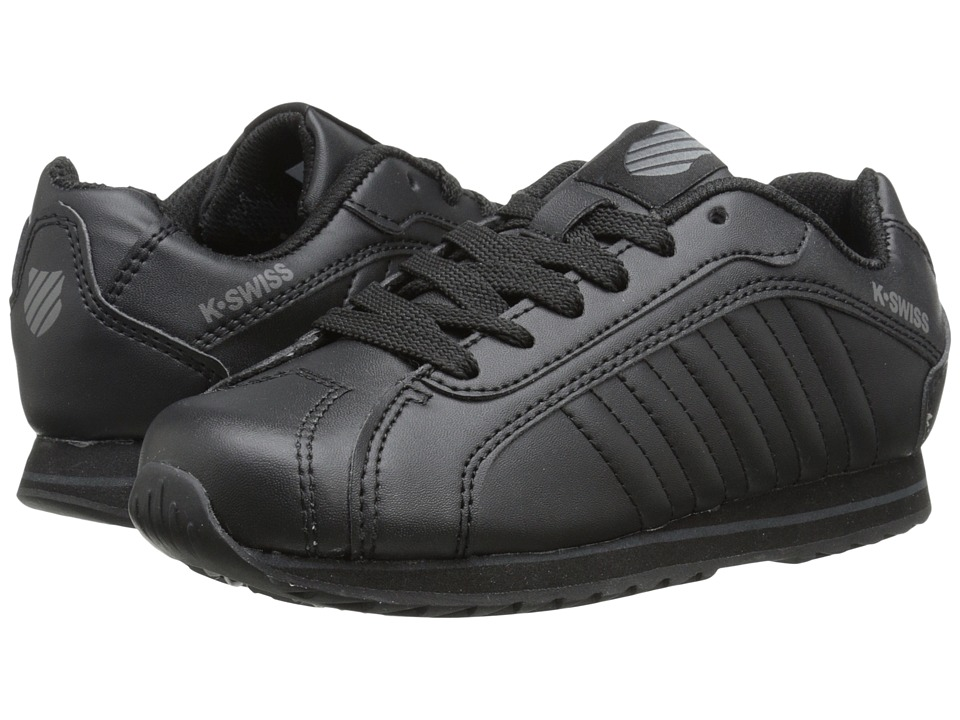 K-Swiss Kids - Verstad III S (Little Kid) (Black/Black) Kids Shoes