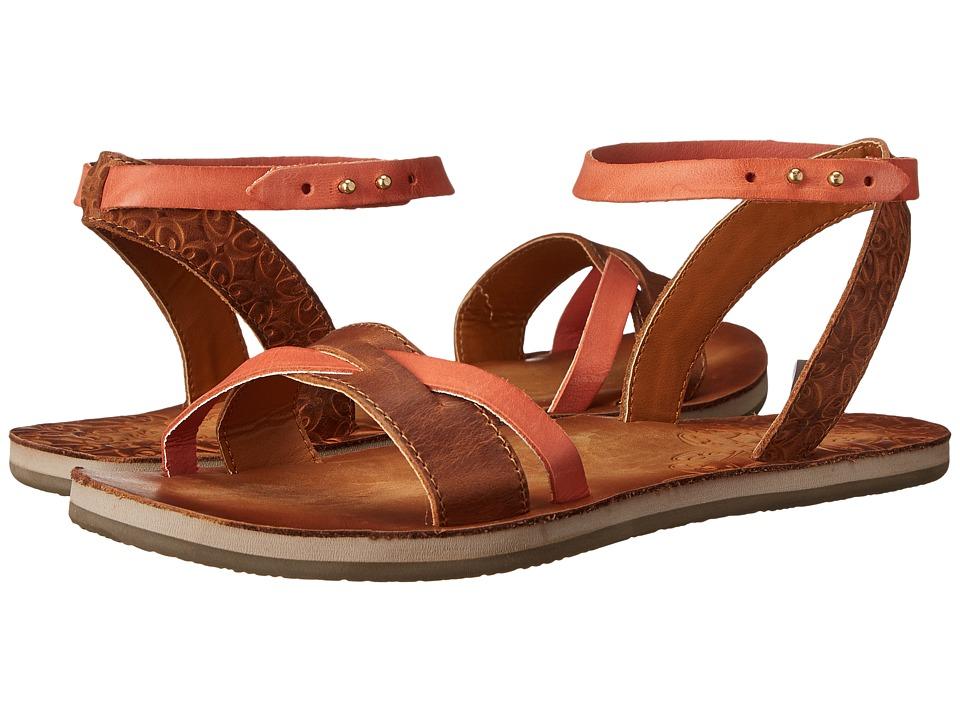 Cushe - Fresh Twist (Tan/Papaya) Women's Shoes