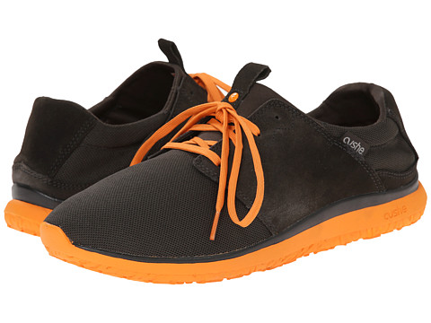 Cushe - Getaway (Charcoal/Orange Mesh) Men's Shoes