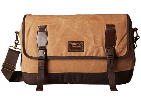 Burton - Flint Messenger (Beagle Brown Waxed Canvass) Messenger Bags
