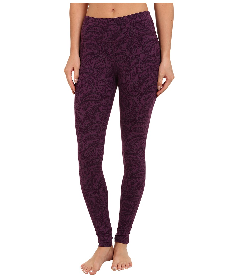 Zobha - Nadia Printed Legging (Deep Purple) Women's Casual Pants