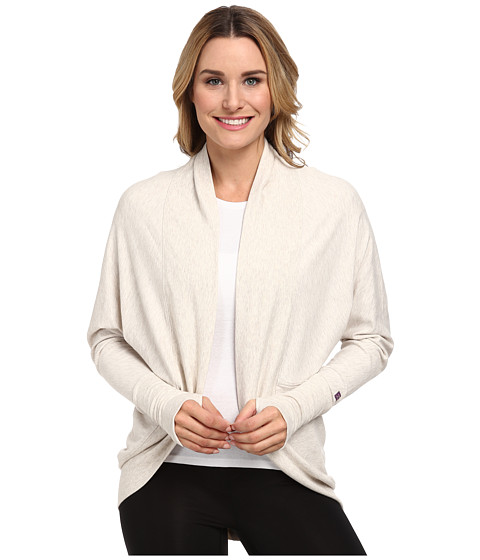Zobha - Ana Oversized Cardigan (Heather Eggnog) Women's Blouse