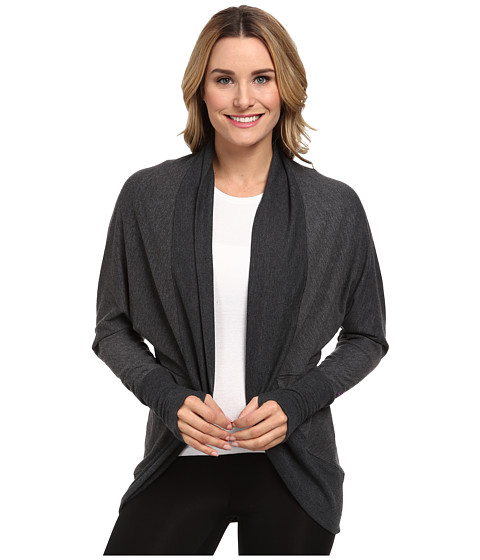 Zobha - Ana Oversized Cardigan (Phantom Heather) Women's Blouse