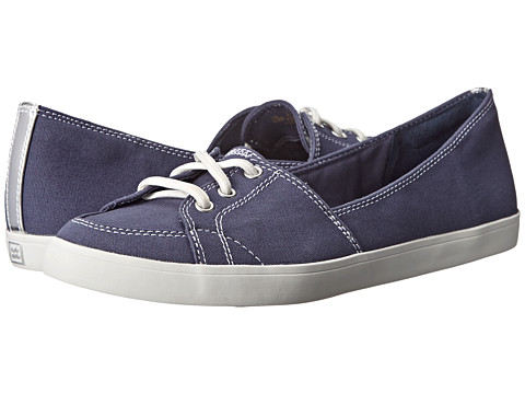 Naturalizer - Curve (Navy Canvas) Women's Shoes