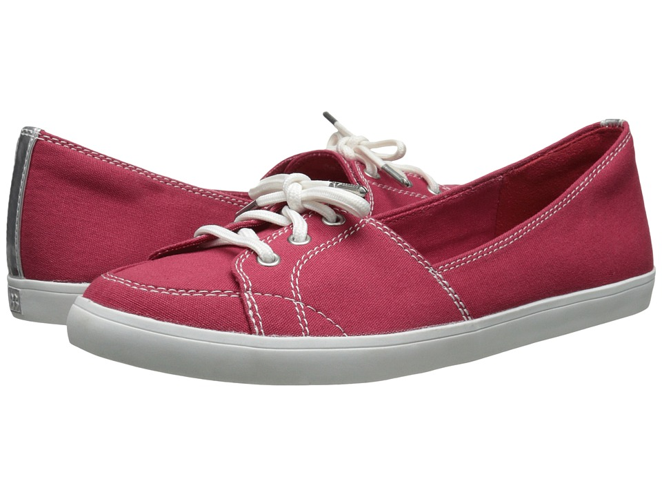 Naturalizer - Curve (Red Canvas) Women's Shoes