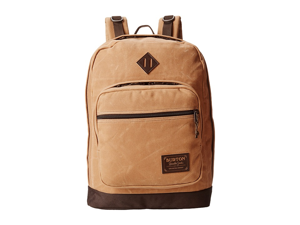 Burton - Big Kettle Pack (Beagle Brown Waxed Canvas) Backpack Bags