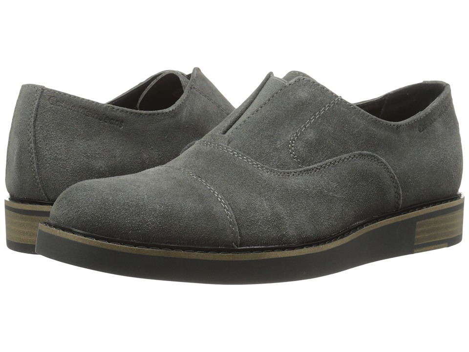 Calvin Klein Jeans - Brigham (Dark Grey Suede) Men