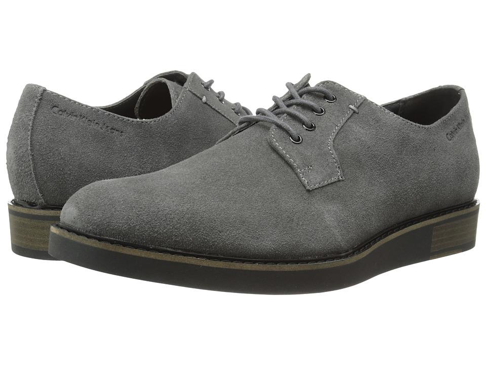 Calvin Klein Jeans Banks (Dark Grey Suede) Men