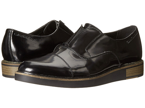 Calvin Klein Jeans - Brigham (Black Shiny Box) Men's Shoes
