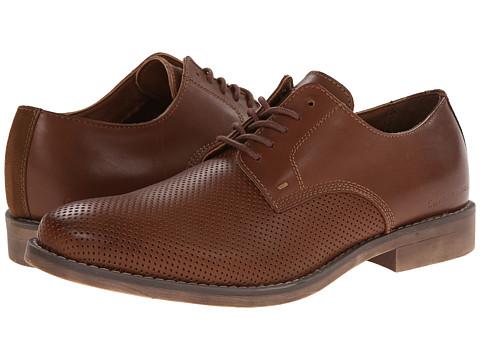 Calvin Klein Jeans - Onyx (Tan Perf Leather) Men's Shoes