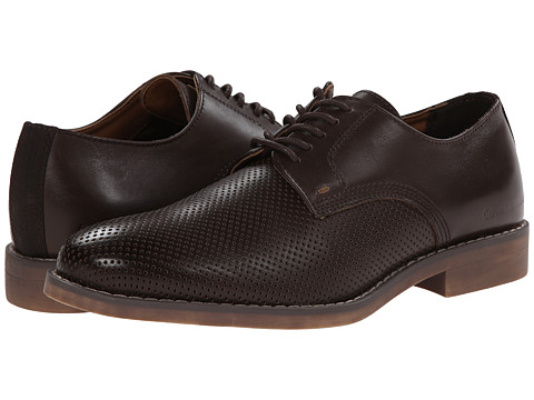 Calvin Klein Jeans - Onyx (Dark Brown Perf Leather) Men's Shoes