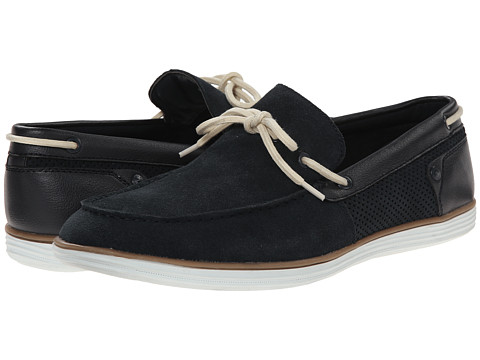 Calvin Klein Jeans - Sonny (Midnight Suede/Smooth) Men's Slip on Shoes