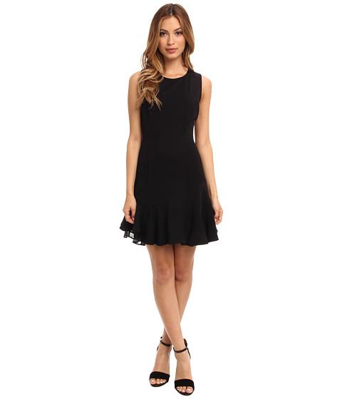 Sam Edelman - Ruffle Dress (Black) Women's Dress