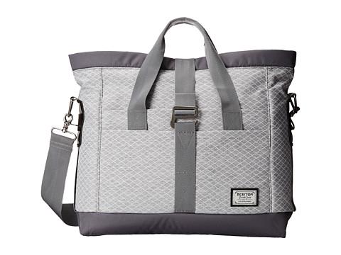 Burton - Charter Messenger (Grey Heather Diamond Ripstop) Messenger Bags