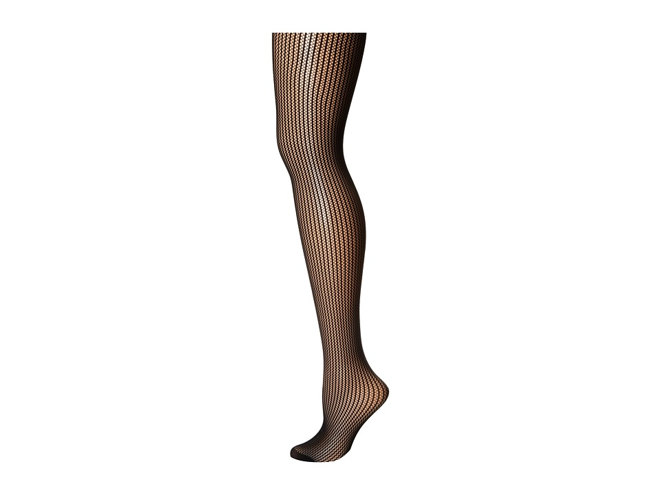 Commando - Chelsea Stripe Net HN004 (Black) Hose