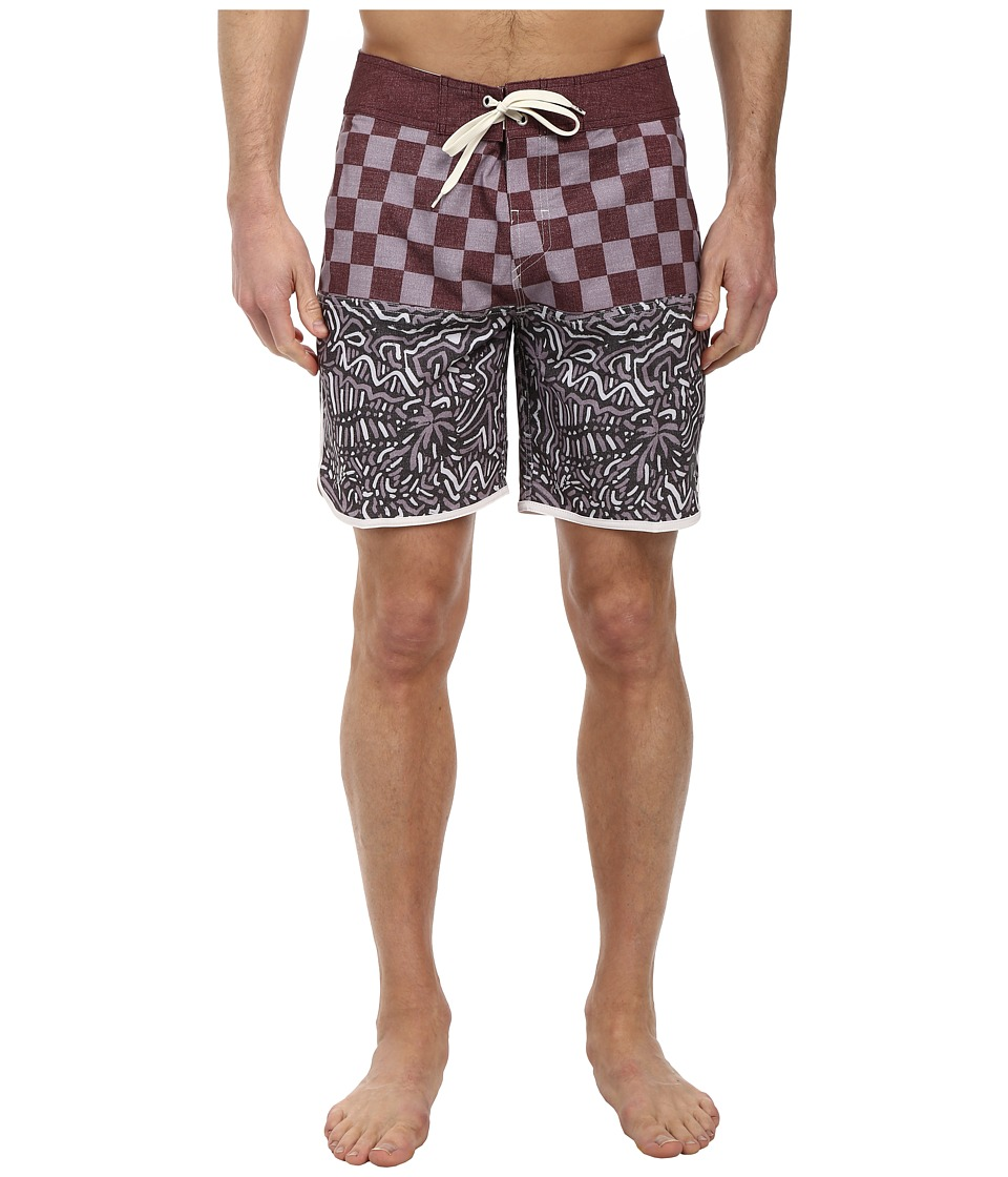 Quiksilver - Quad Rock 18 Scallop Boardshort (Sassafras) Men's Swimwear