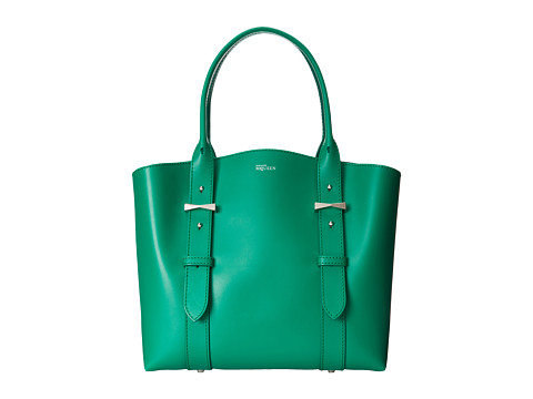 Alexander McQueen - Legend Small Shopper (Emerald) Tote Handbags