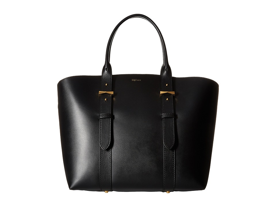 Alexander McQueen - Legend Medium E/W (Black) Tote Handbags