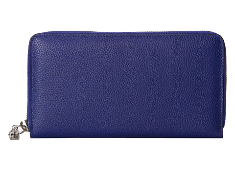 Alexander McQueen - Contin Zip Wallet (Ultrama) Wallet Handbags