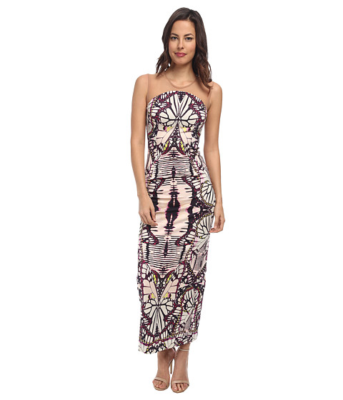 Just Cavalli - S02CT0365 (Plum Variant) Women's Dress