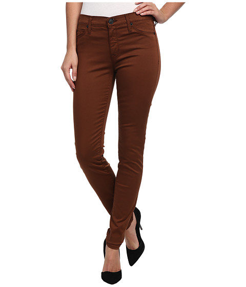 Hudson - Nico Mid-Rise Super Skinny in Tarnished Copper (Tarnished Copper) Women's Jeans