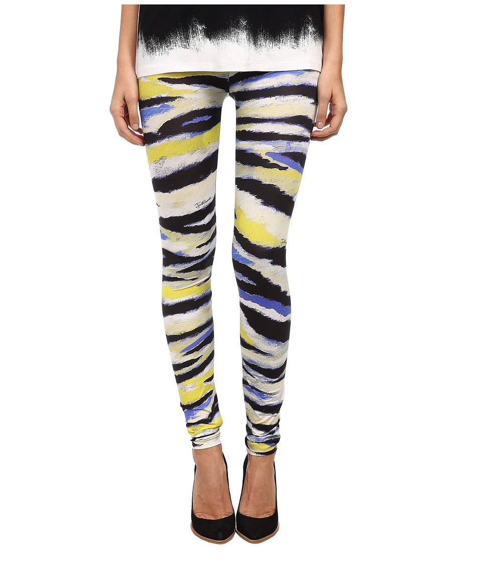Just Cavalli - Animal Print Leggings (Bluette Variant 1) Women's Casual Pants