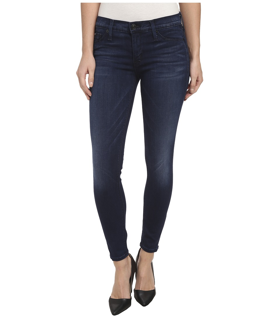 Hudson - Krista Super Skinny Crop in Contrary (Contrary) Women's Jeans