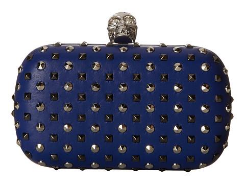 Alexander McQueen - Class Skull Chainstr (Ultramarine) Handbags