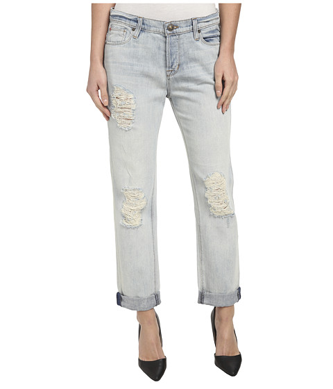 Hudson - Leigh Boyfriend w/ Distressing in Weekend Warrior (Weekend Warrior) Women's Jeans