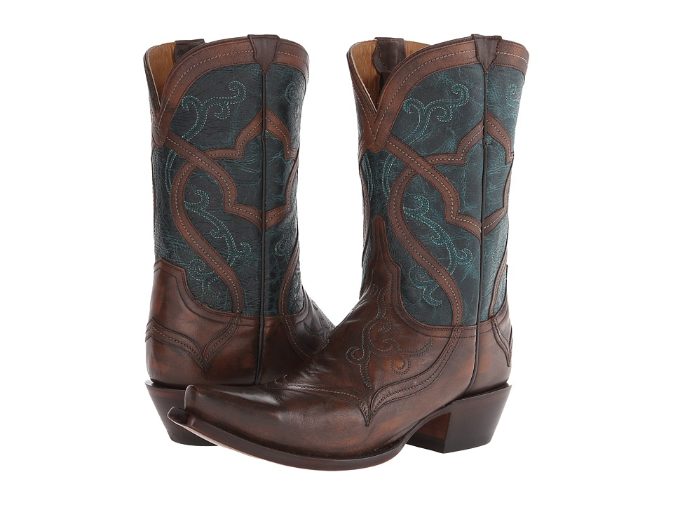 Lucchese - M4917 (Caf ) Cowboy Boots