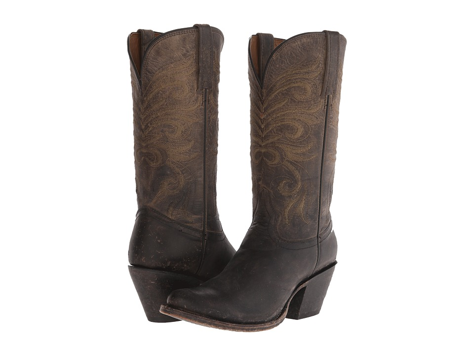 Lucchese - M4650 (Anthracite Distressed) Cowboy Boots