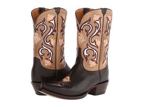 Lucchese - M4919 (Chocolate) Cowboy Boots