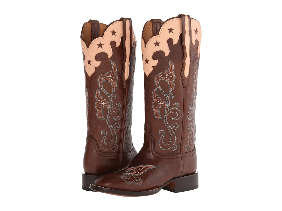 Lucchese - M4914 (Whiskey) Cowboy Boots
