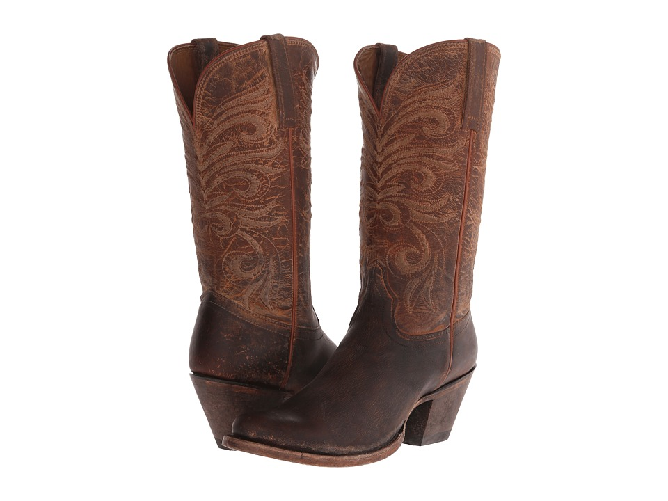 Lucchese - M4651 (Peanut Brittle Distressed) Cowboy Boots
