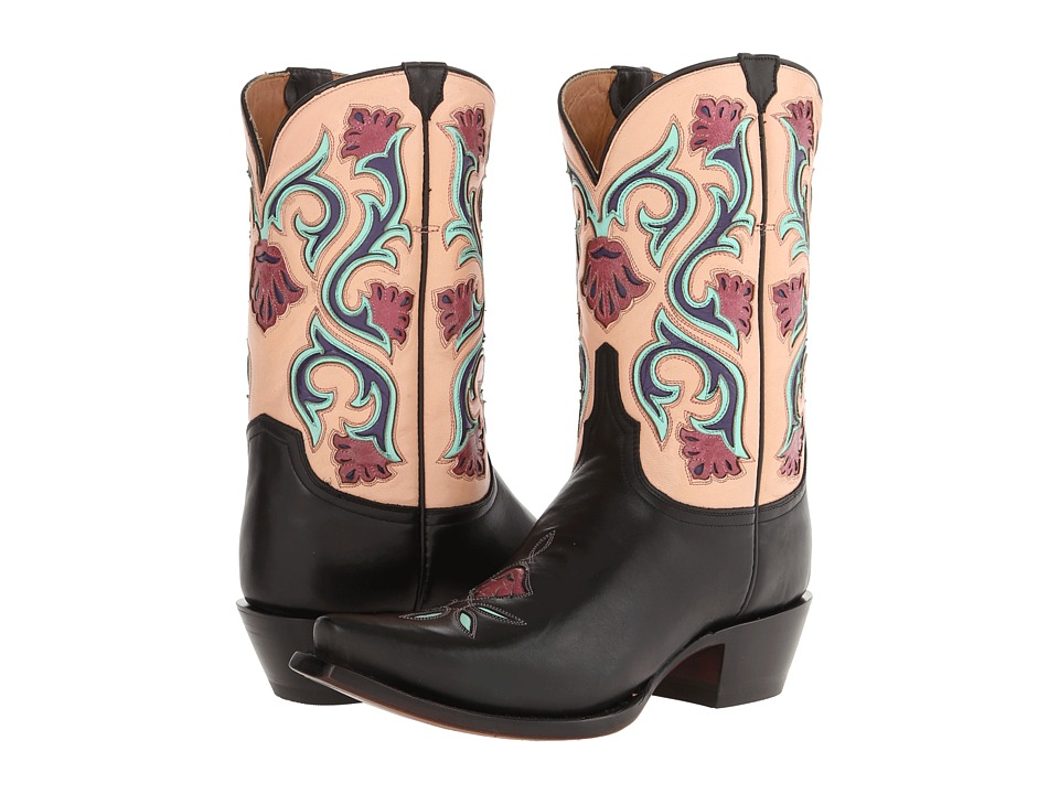 Lucchese - M4921 (Black) Cowboy Boots
