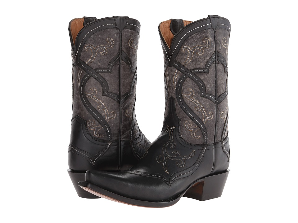 Lucchese - M4915 (Black) Cowboy Boots