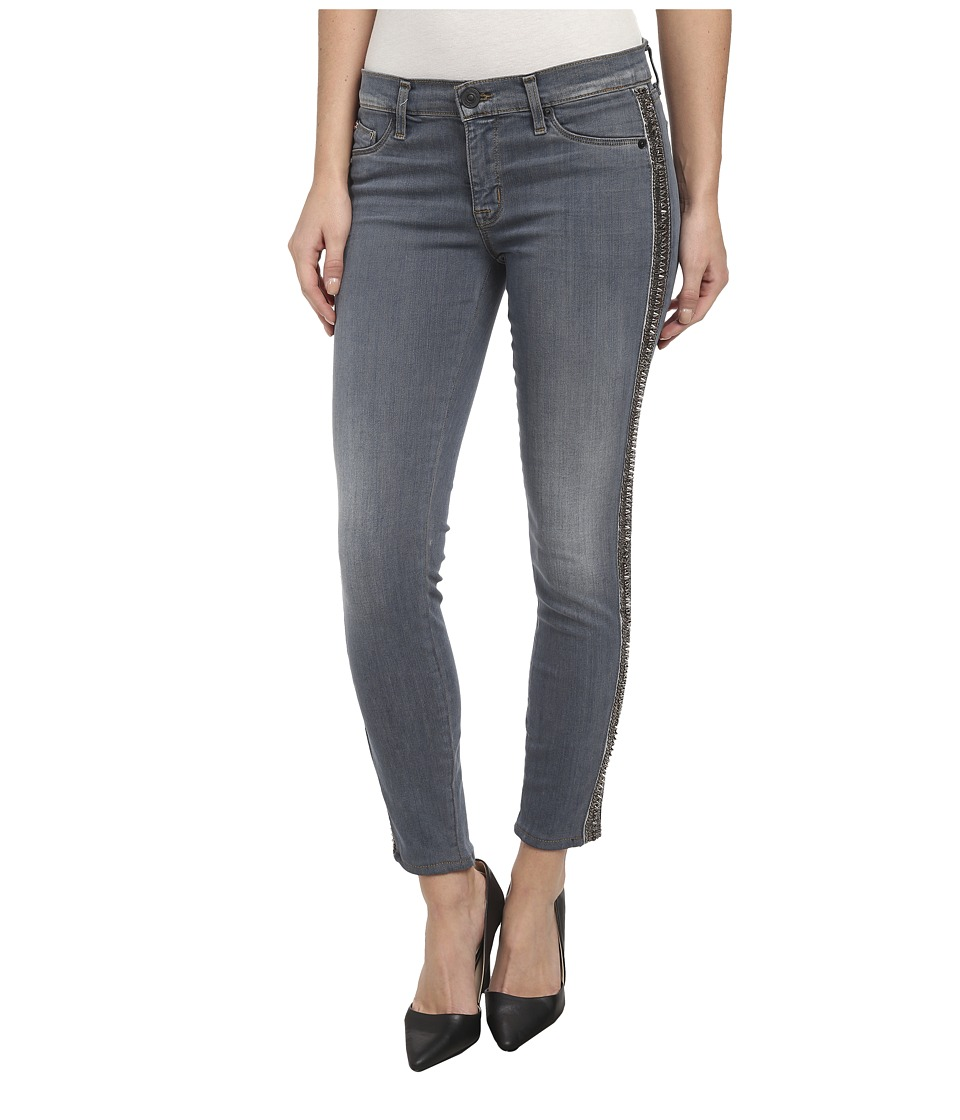 Hudson - Luna Skinny Crop w/ Side Bead Detail in Unfiltered (Unfiltered) Women's Jeans