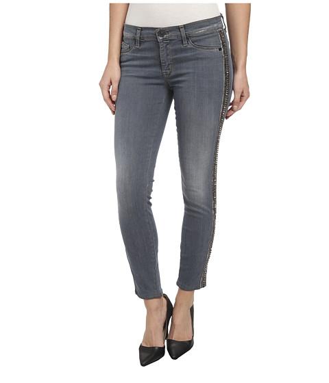 Hudson - Luna Skinny Crop w/ Side Bead Detail in Unfiltered (Unfiltered) Women's Jeans