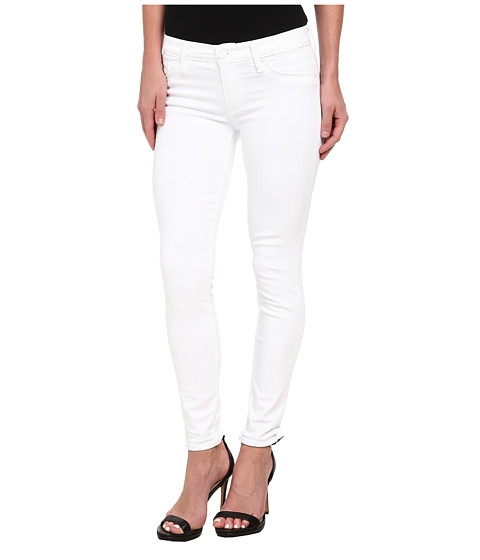 Hudson - Krista Super Skinny Crop in White (White) Women's Jeans