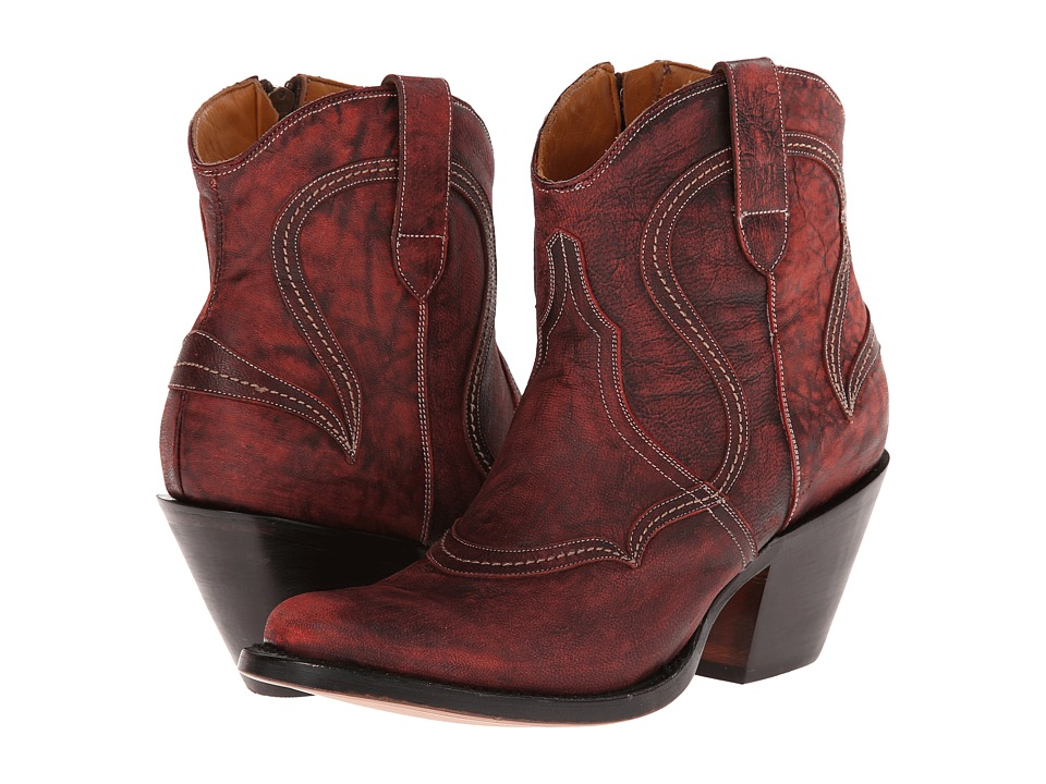 Lucchese - M4923 (Black Cherry) Cowboy Boots