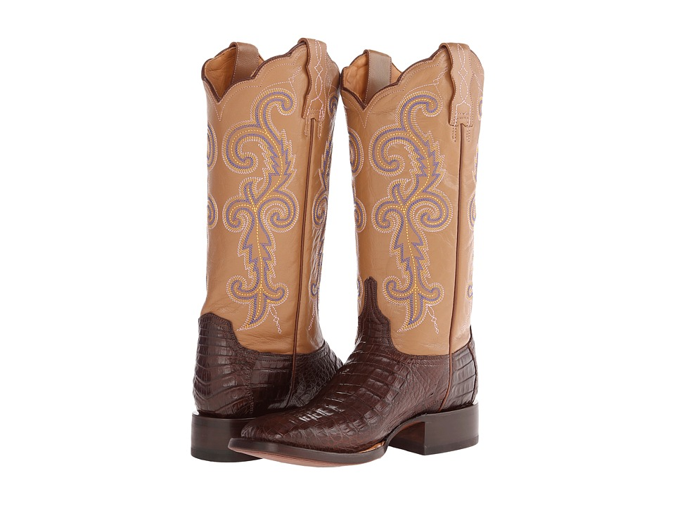 Lucchese - M4942 (Caf Caiman) Cowboy Boots