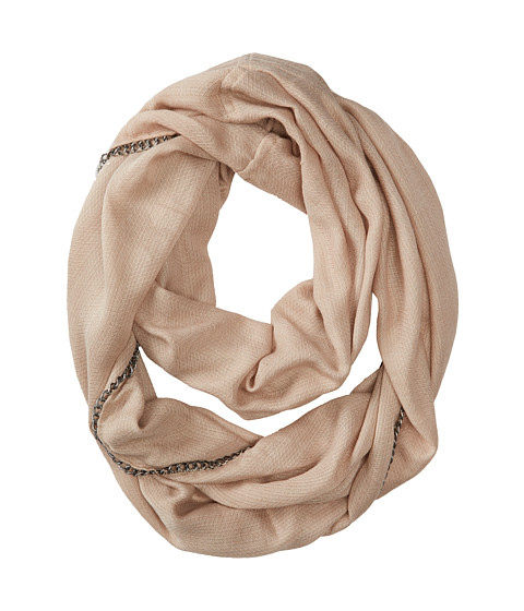Vince Camuto - All Chain Up Loop (Oat) Scarves