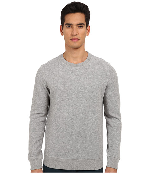 Theory - Jens.Indicative Sweatshirt (Grey Heather) Men's Sweatshirt