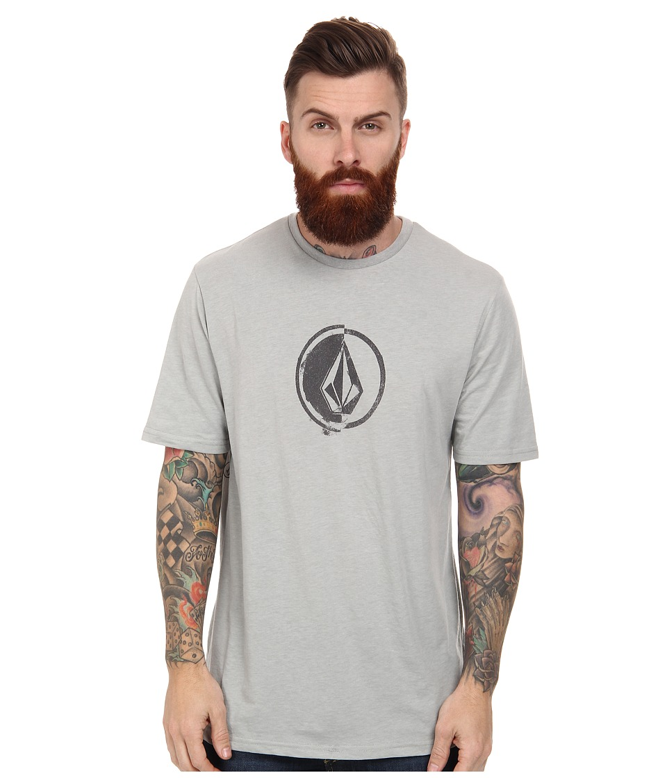Volcom - Stacking Surf Tee (Cement) Men's T Shirt