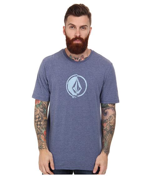 Volcom - Stacking Surf Tee (Matured Blue) Men's T Shirt