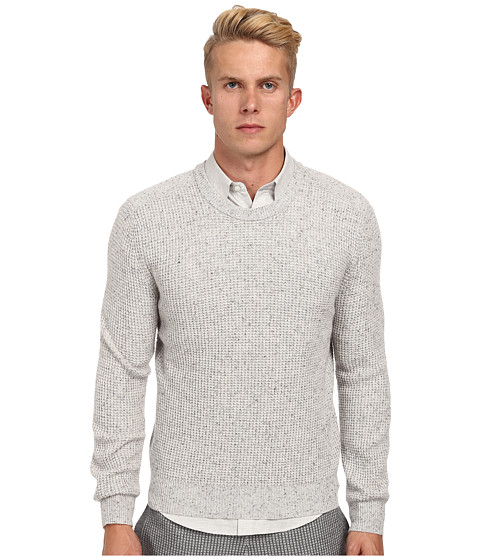 Theory - Enzo.Donegal Cashmere Thermal (Ice Tweed) Men