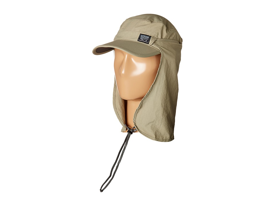 Outdoor Research - Radar Sun Runner Cap (Khaki) Caps