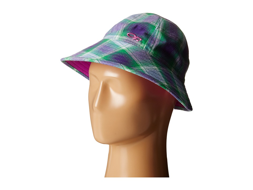Outdoor Research - Reversible Arroyo Bucket Hat (Ultraviolet) Bucket Caps