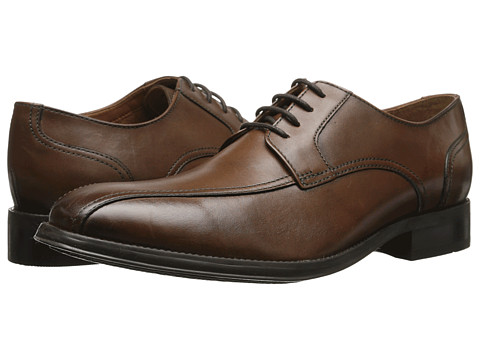 Bostonian - Greer Move (Brown Leather) Men's Lace Up Cap Toe Shoes