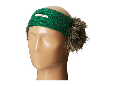 Grace Hats - Aran Earmuff (Green) Cold Weather Hats